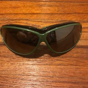Never worn green arnette sunglasses